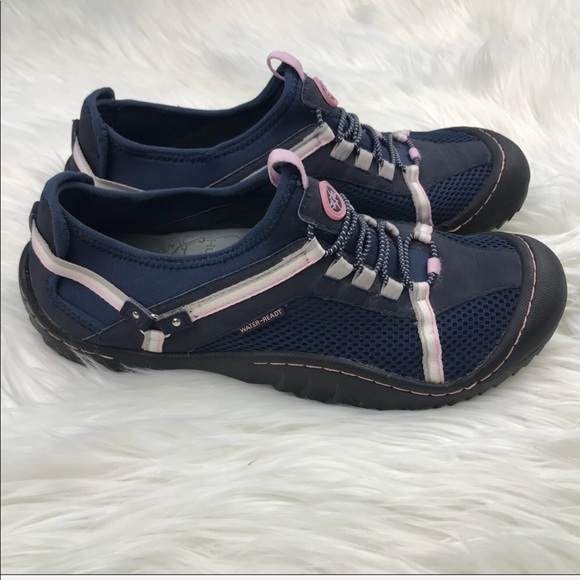 cec6be59fdda Jeep Shoes - J-41 Adventure On Tahoe Hiking Water Shoes 10 Blue
